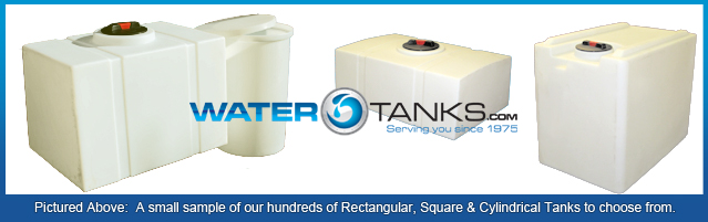 Rectangular Tanks, RV Holding Tanks, RV Holding Tank,  Water Holding Tank