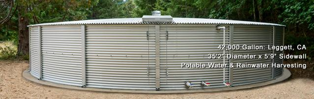 Rainwater Harvesting Tank Image