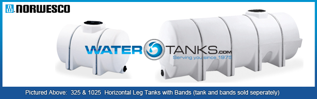 Horizontal Leg Tanks, Horizontal Storage Tank