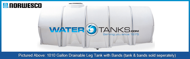 Poly Drainable Leg Tanks 