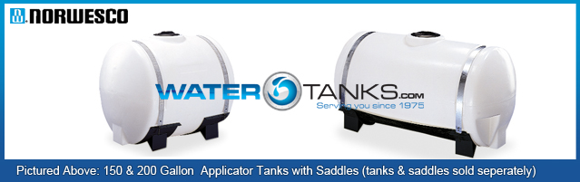 Applicator Tanks, Saddle Tanks, Tank Saddles, Tank Saddle, Saddle Tank