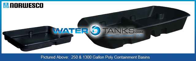 Containment Basins, Containment Tanks &amp; Tank Systems